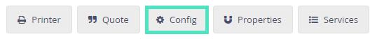 Shipping config