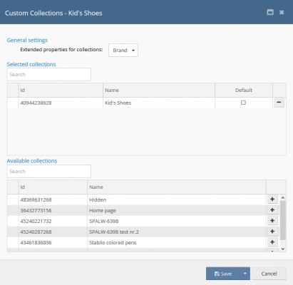 shopify config customcollections1